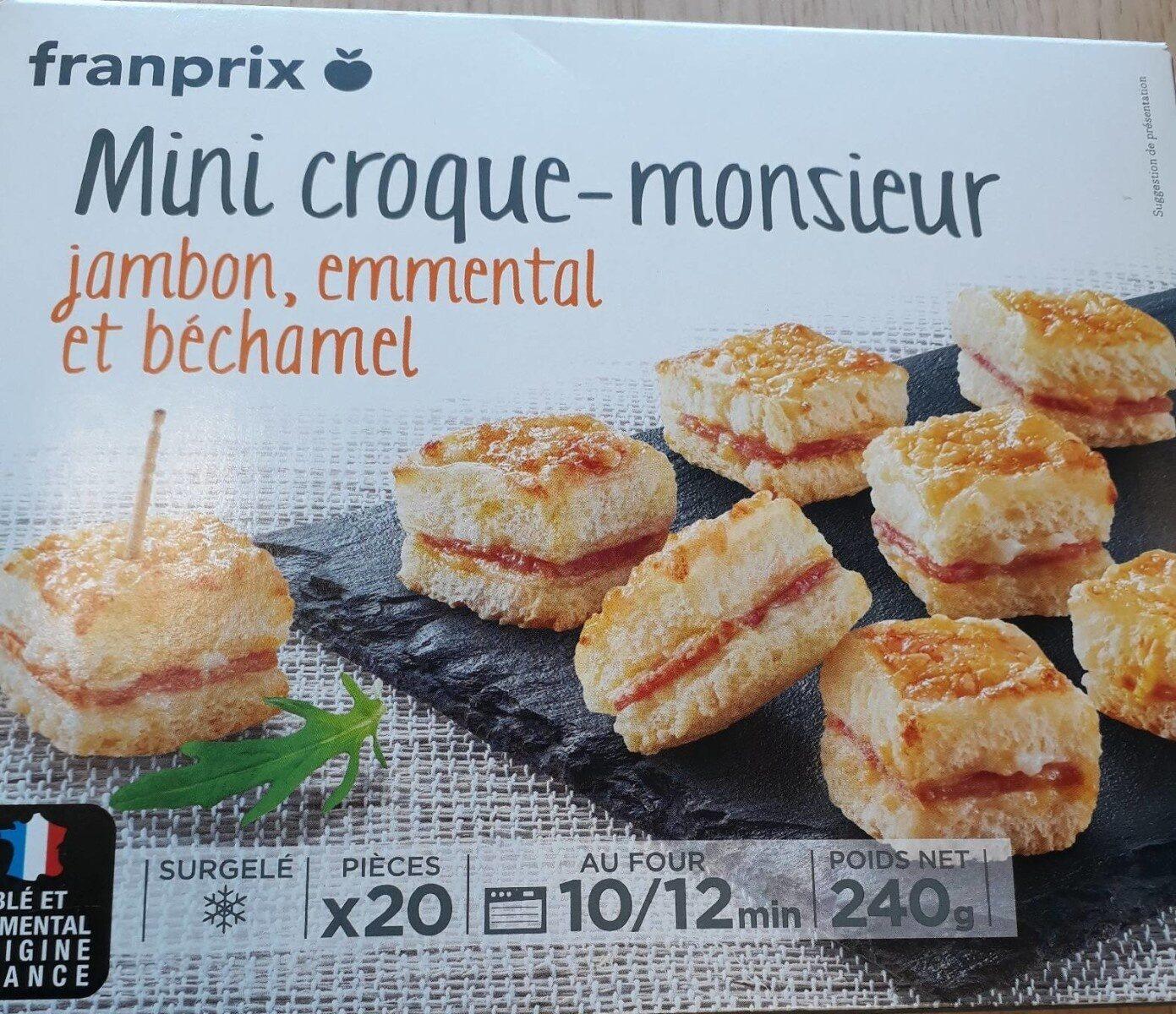 Mini croque monsieur - Product