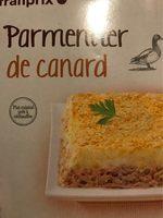 Parmentier de canard - Produit