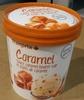 Crème Glacée Caramel, Sauce Caramel Beurre Salé et Éclats de Caramel - Produit