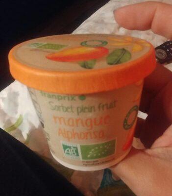 Sorbet plein fruit Mangue Alphonso - Produit - fr