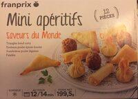 Mini aperitifs Saveurs du Monde - Product - fr
