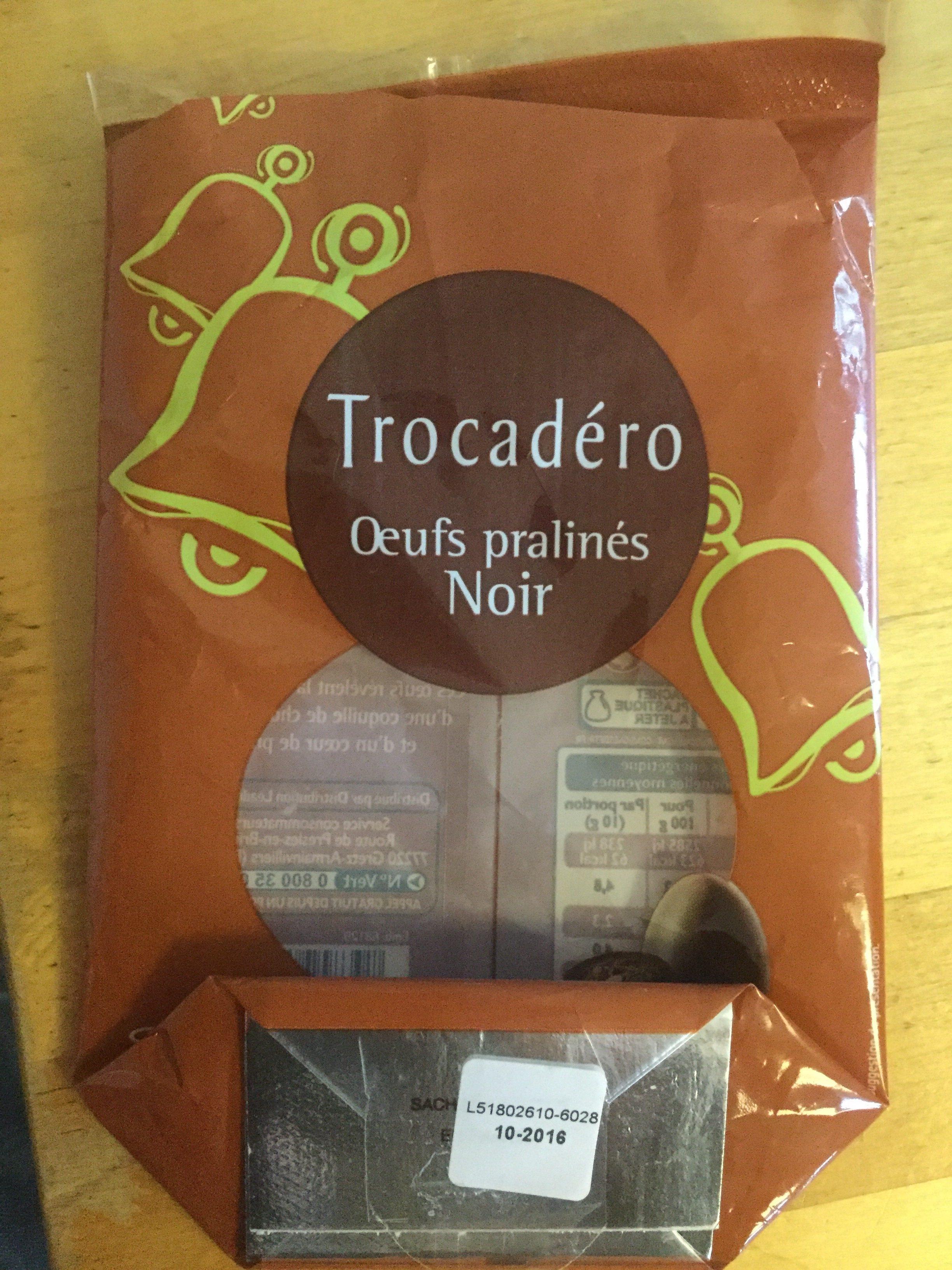 Oeufs pralinés noir - Product - fr