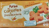 Purée de carottes et pomme de terre - Product - fr