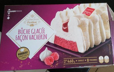 Bûche glacée façon vacherin - Product - fr