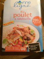Riz Poulet, Et Ratatouille - Produit - fr