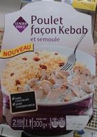 Poulet façon Kebab et semoule - Produit - fr