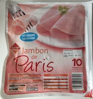 Jambon de Paris (10 tranches) - Product