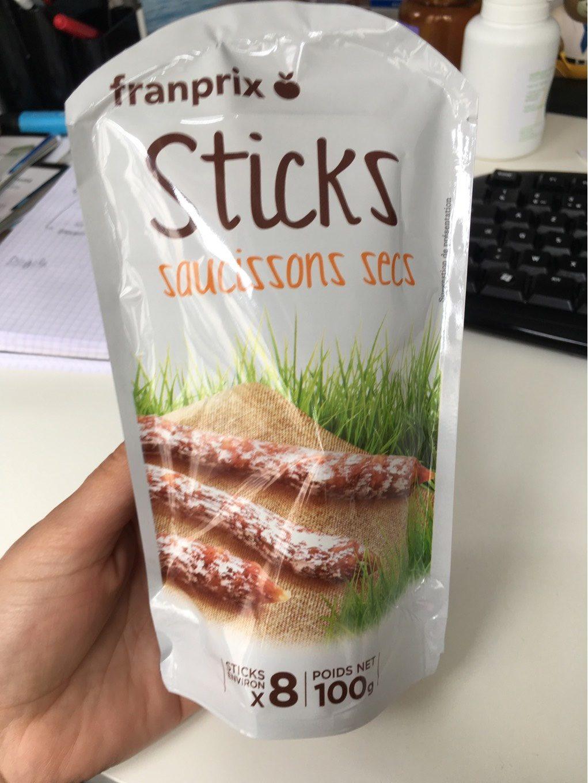 Sticks saucisson sec - Product - fr
