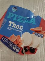 Pizza thon mozzarella, emmental, olives - Produit