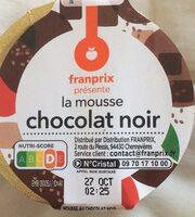 mousse chocolat noir - Product - fr
