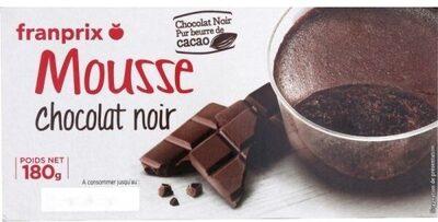 mousse chocolat noir - Ingrediënten - fr
