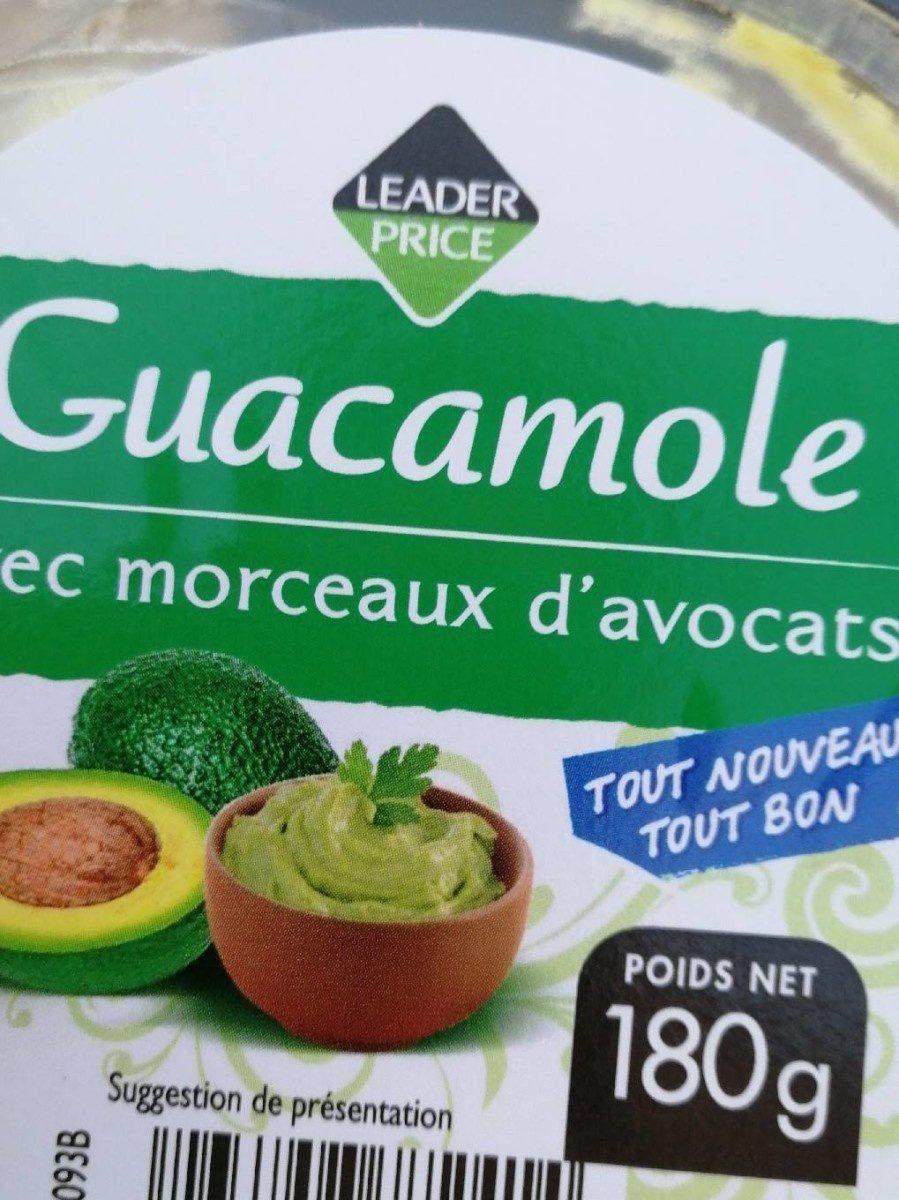 Guacamole avec morceaux d'avocats - Product