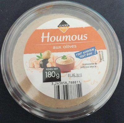 Houmous aux olives - Produit - fr