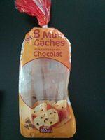 Mini Gâches aux Carreaux de Chocolat - Produit - fr