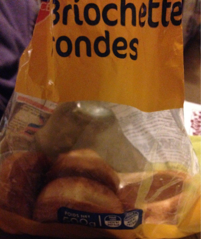 Briochettes Rondes - Produit - fr