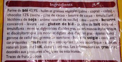 8 Pains au chocolat - Ingrediënten