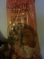 Gâche tranchée aux pépites de chocolat - Prodotto - fr
