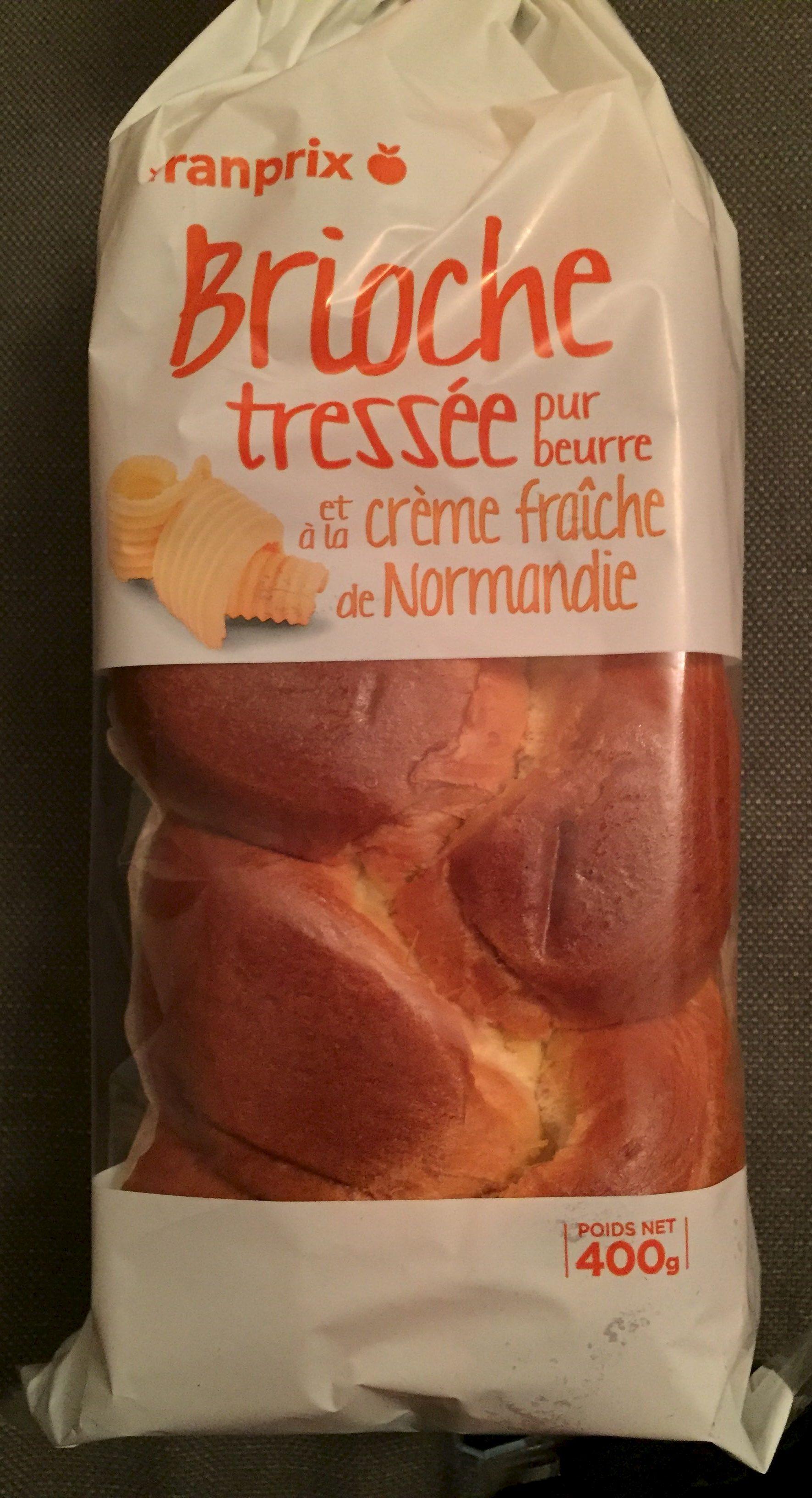 Brioche Tressée Pur Beurre et à la Crème Fraîche de Normandie - Produit - fr