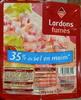 Lardons fumés (-35 % de sel) - Produit
