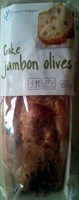 Cake Jambon Olives - Product