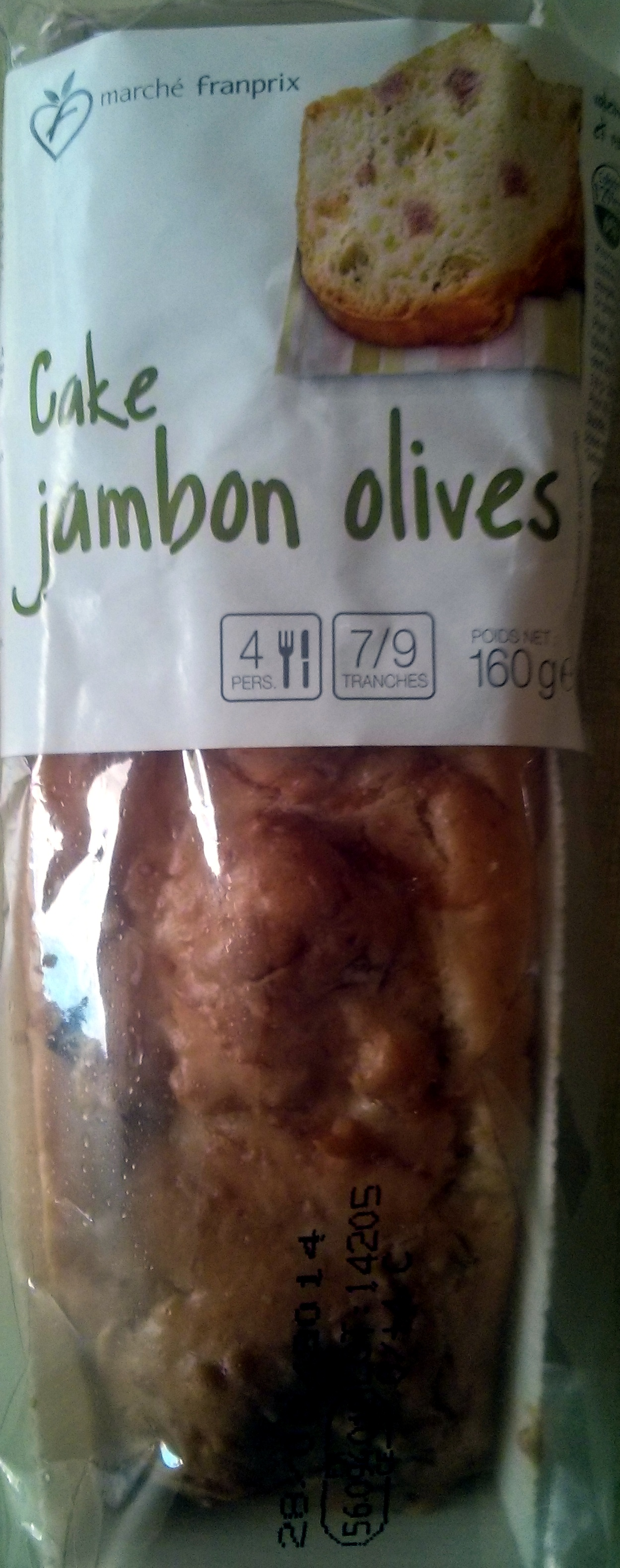 Cake Jambon Olives - Product - fr
