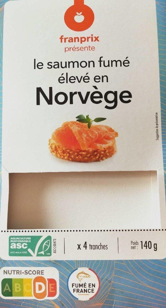 Saumon fumé élevé en Norvège - Prodotto - fr