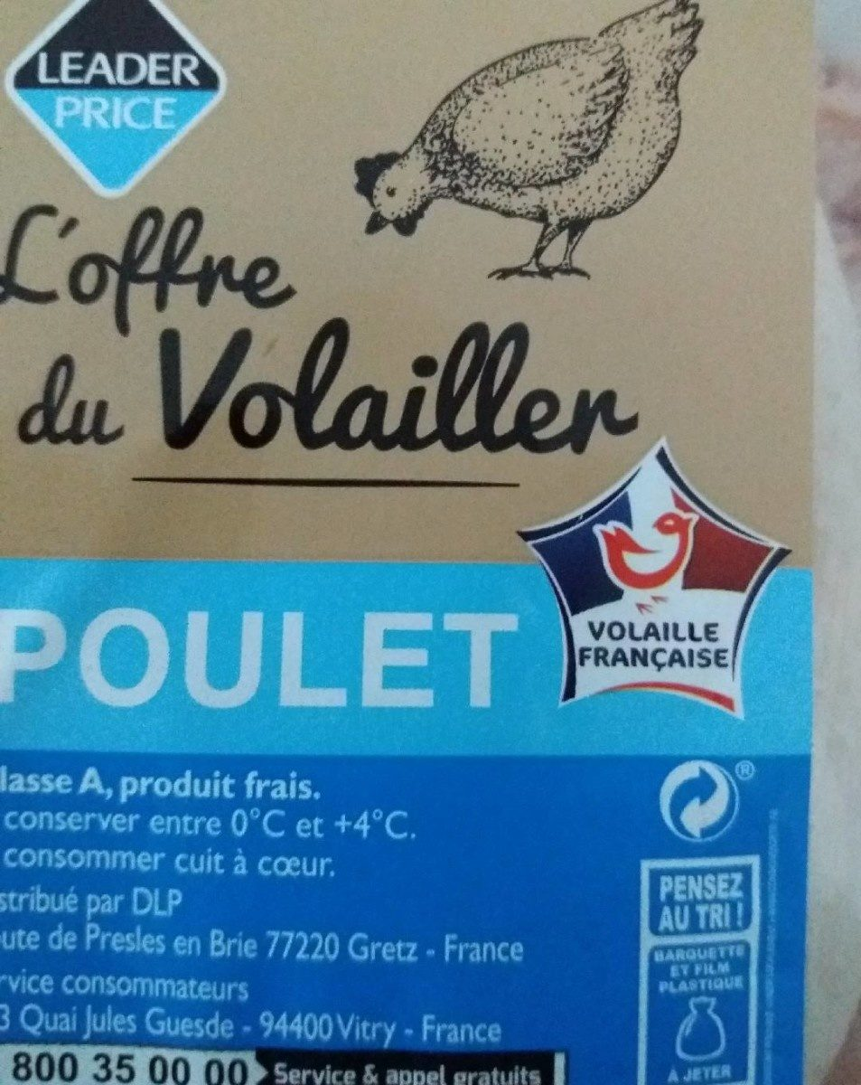 Poulet - Ingredients - es