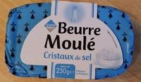 Beurre Moulé Cristaux de Sel (80 % MG) - Produit