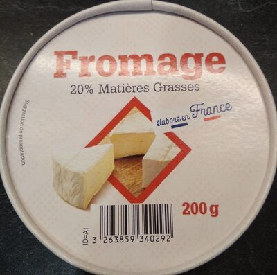 Fromage type camembert - Produit