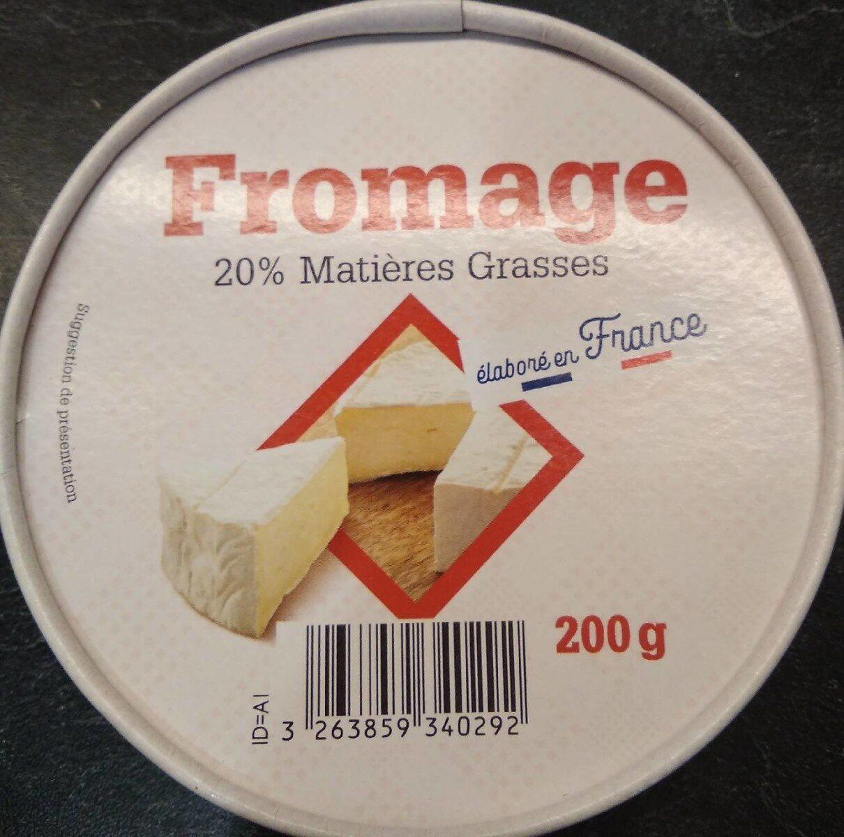 Fromage type camembert - Produit - fr