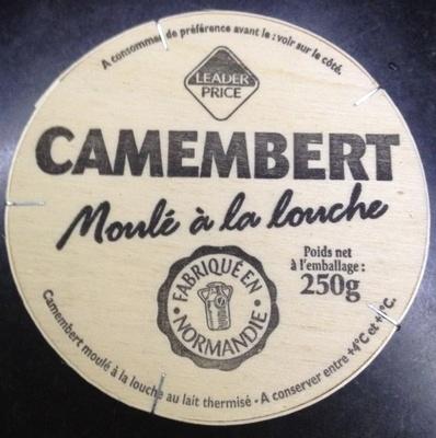Camembert moulé à la louche - Produit - fr