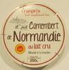 Camembert de Normandie au lait cru moulé à la louche - Produit
