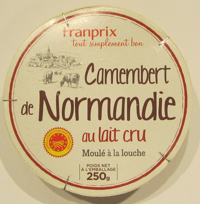 Camembert de Normandie au lait cru moulé à la louche - Product - fr