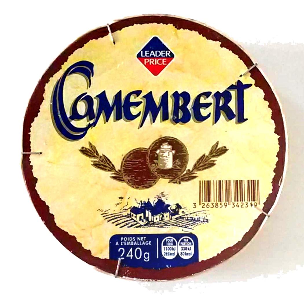 Camembert (21 % MG) - Prodotto - fr