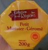 Petit Munster Géromé - Produit