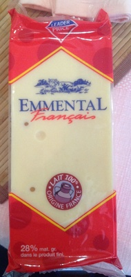 Emmental Français (28% MG) - 500 g - Leader Price - Produit - fr