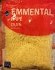 Emmental Râpé (29.5 % MG) - Produit