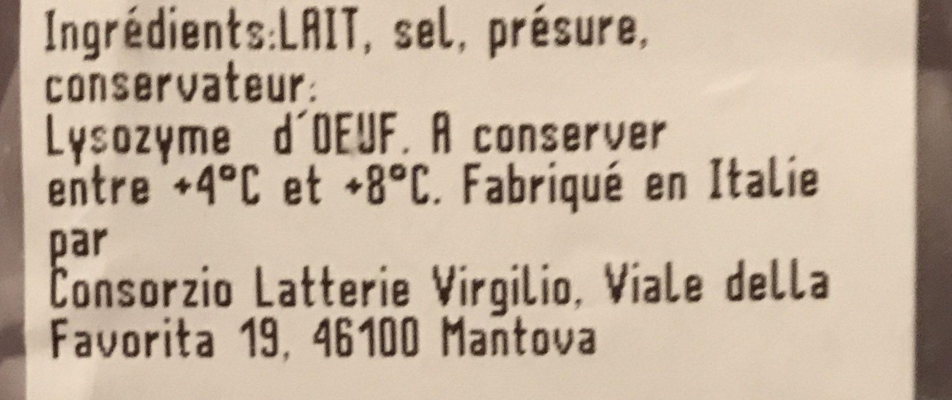 Grana panado - Ingrediënten