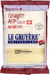 gruyère suisse AOC - Product - fr
