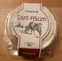 Saint-Félicien - Voedingswaarden - fr