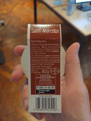 Saint Marcellin (23% MG) - Ingrediënten