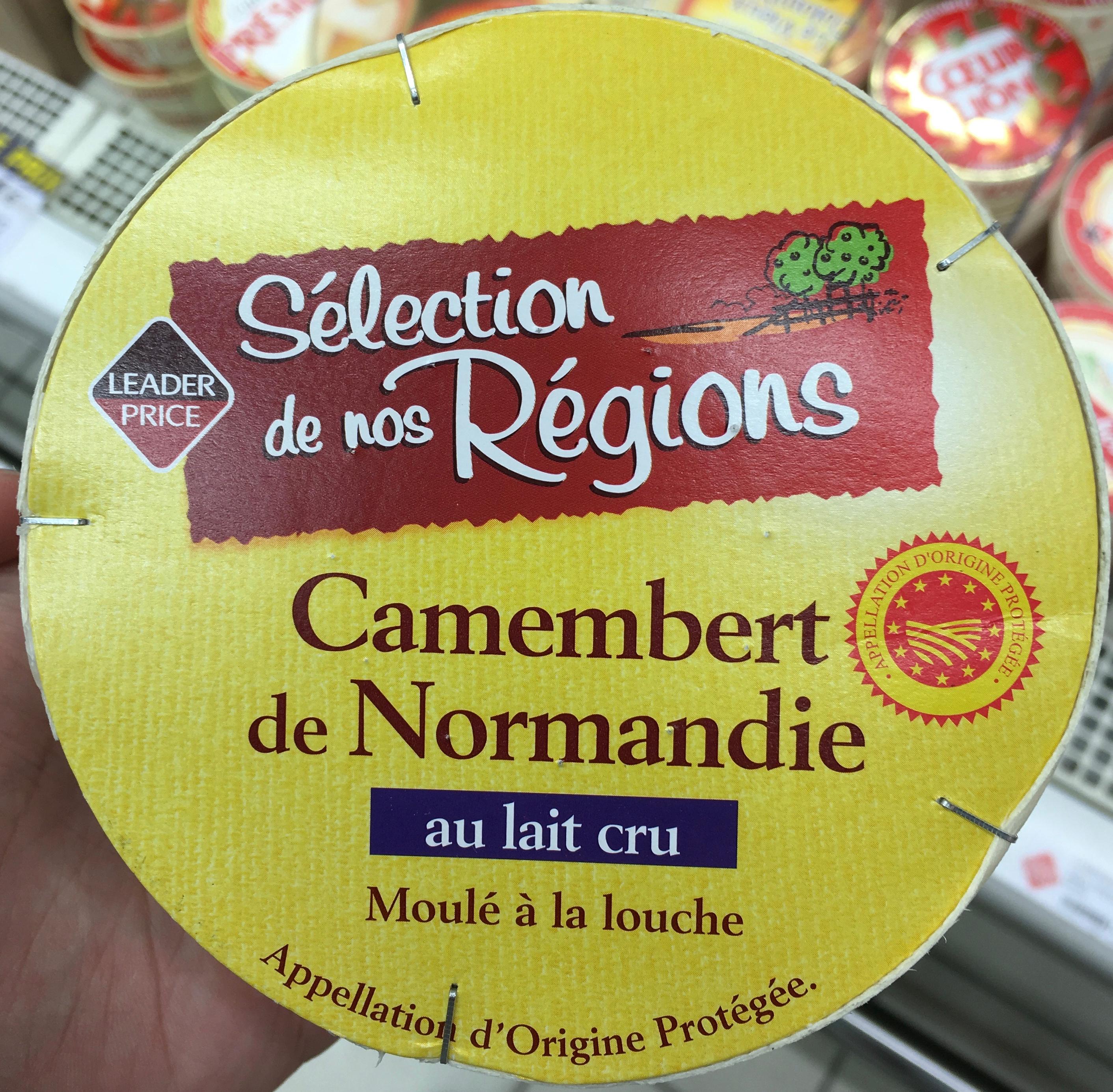 Camembert de Normandie au lait cru moulé à la louche - Product