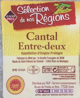 Cantal Entre-deux AOP - Product