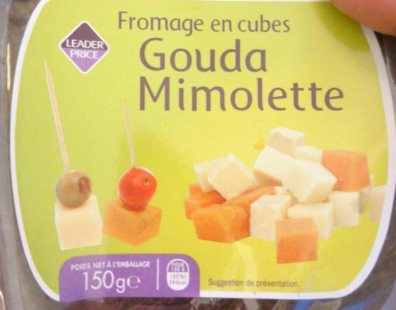 Fromage en Cubes - Gouda Mimolette - Product