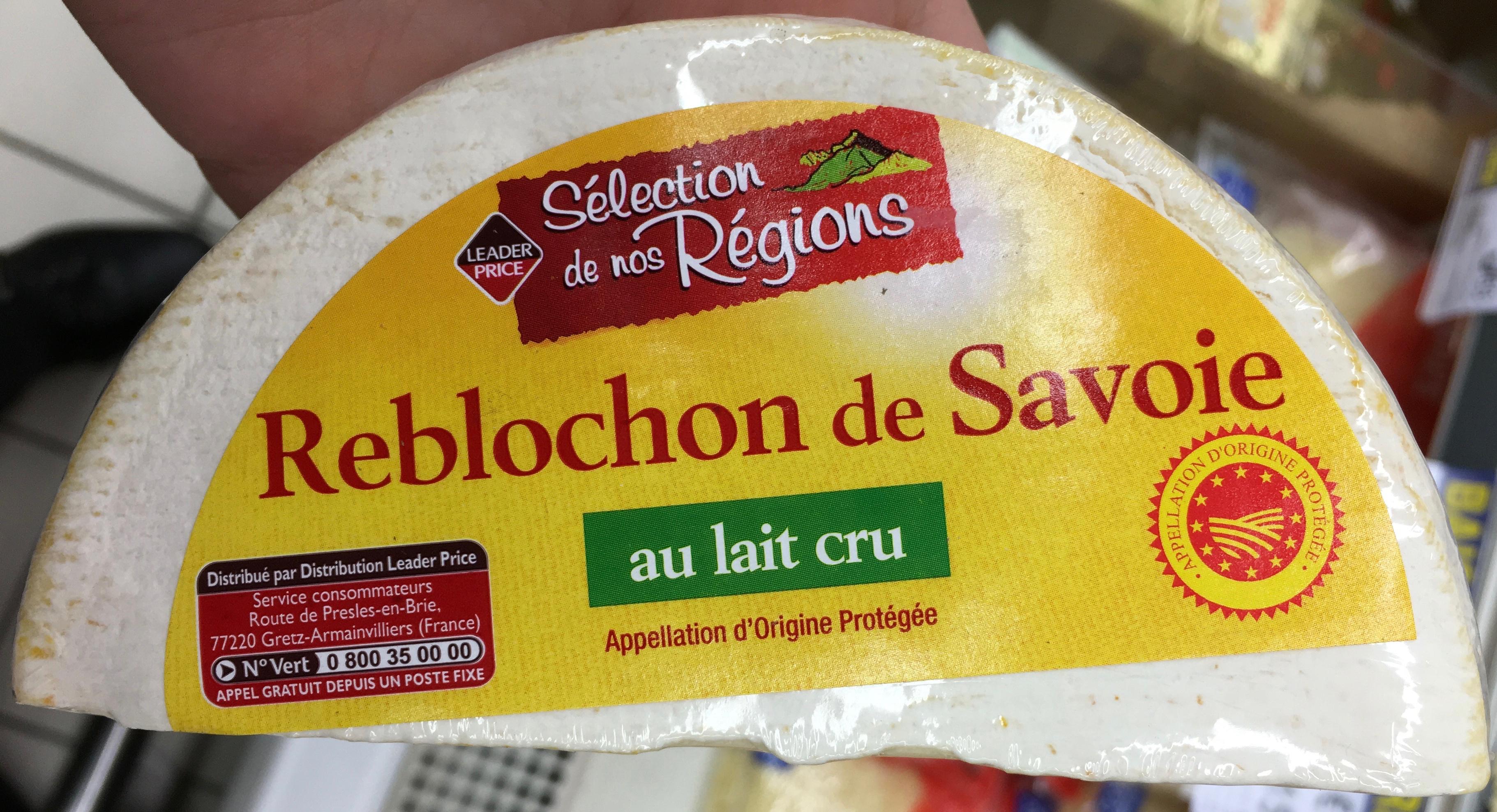 Reblochon de Savoie au lait cru (25% MG) - Product - fr