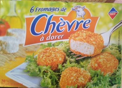 6 Fromages de Chèvre à Dorer - Produit - fr