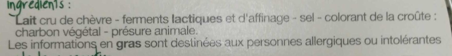 Selles-sur-Cher - Ingrediënten