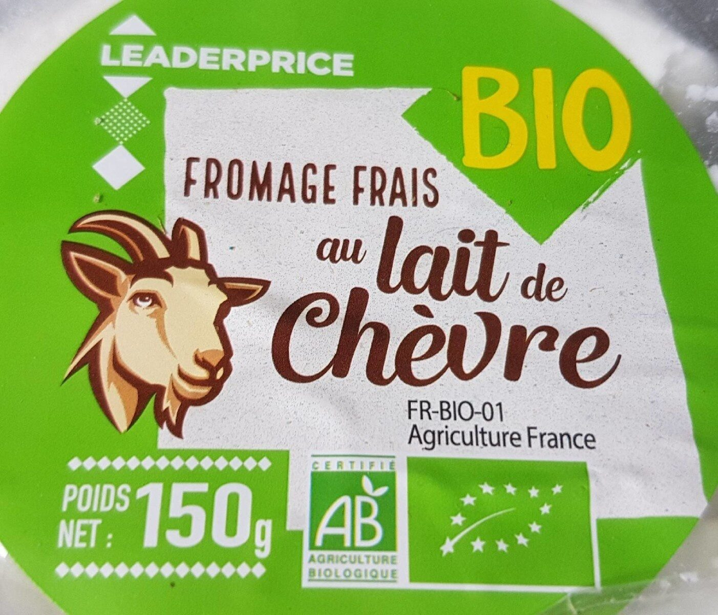 Fromage frais au lait de chèvre - Product