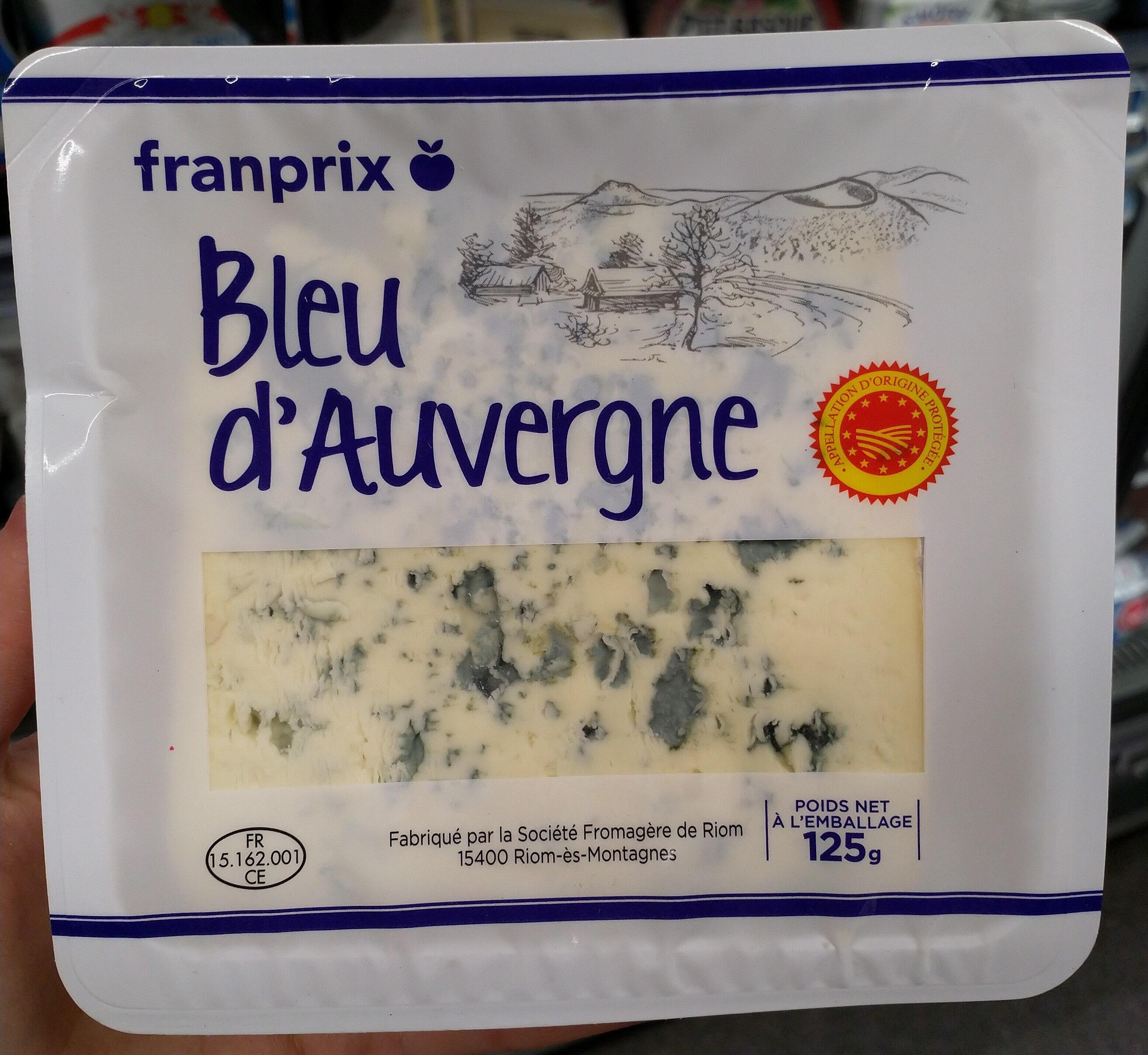 Bleu d'Auvergne AOP (30 % MG) - Product - en