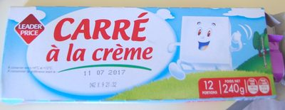 Carré à la crème (29,5 % MG) 12 Portions - Product - fr